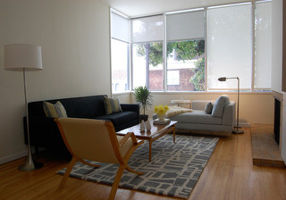 旧金山简约风格的舒适公寓