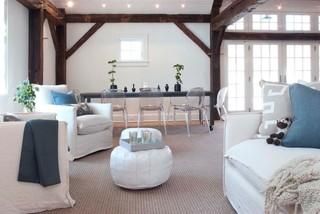 现代简约风格厨房单身公寓设计图温馨装饰单人沙发床图片