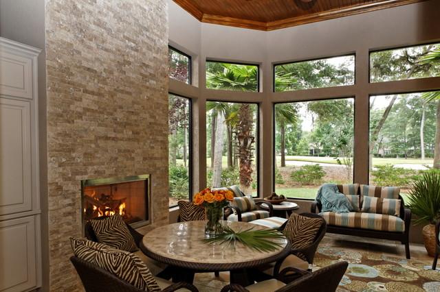 欧式风格客厅欧式别墅客厅温馨卧室三人沙发效果图
