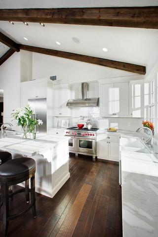 简欧风格电视背景墙三层别墅及温馨装饰3平米厨房装修效果图