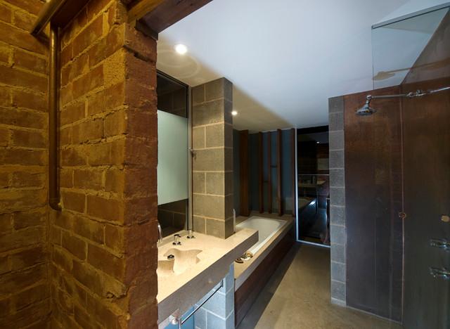 现代简约风格卧室小公寓温馨卧室1平米卫生间效果图