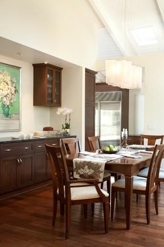 混搭风格客厅单身公寓简单温馨家庭餐桌效果图
