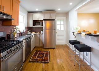 欧式风格家具单身公寓设计图时尚家具2012家装厨房装潢
