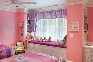 宜家风格客厅单身公寓设计图可爱房间主卧飘窗设计