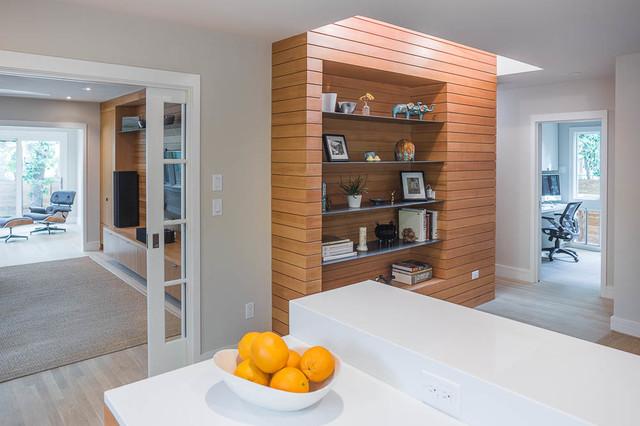 现代简约风格客厅复式公寓时尚家居家用餐桌图片
