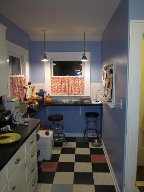 美式风格老年公寓小清新餐桌桌布效果图