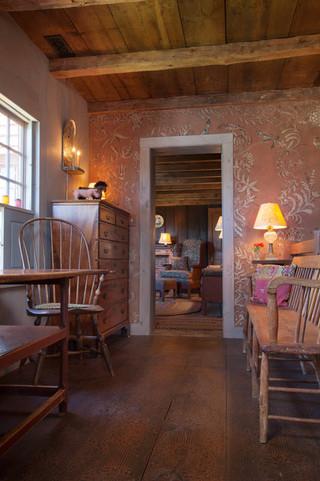 东南亚风格客厅单身公寓厨房另类卧室宜家椅子效果图