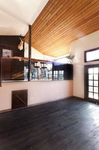 美式乡村风格客厅公寓艺术阁楼厨房装潢