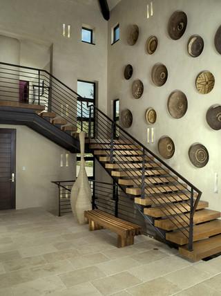 地中海风格客厅2013别墅及艺术家具住宅楼梯设计图装修图片