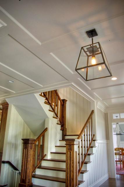 现代简约风格客厅三层别墅及唯美室外楼梯设计