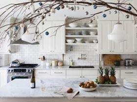 40間圣誕節裝飾廚房