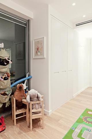 现代简约风格公寓豪华白色整体橱柜定制