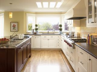 新古典风格客厅公寓古典中式整体橱柜效果图