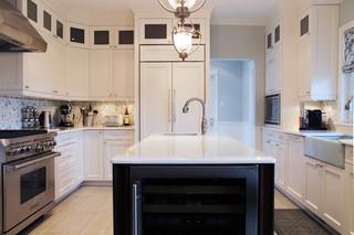 现代简约风格厨房单身公寓厨房稳重室外灯具图片
