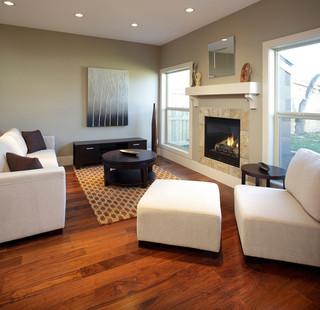 英伦风格一层别墅及大气2013欧式客厅设计图
