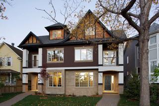英伦风格一层别墅大气家庭庭院装修效果图