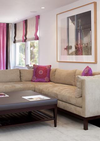 现代简约风格餐厅大户型客厅卧室温馨2014客厅装修效果图