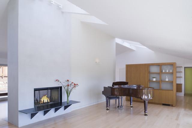 约风格客厅三层别墅客厅简洁厨房酒柜隔断效果图-装修效果图案例