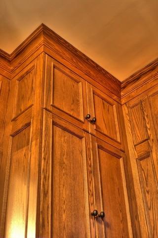 美式风格客厅三层连体别墅卧室温馨原木色家居装修效果图