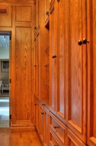 美式风格200平米别墅简单温馨原木色家居装修效果图