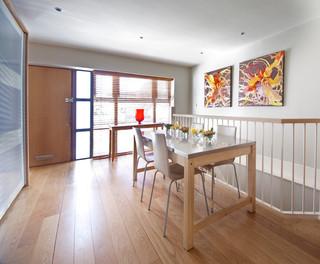 现代简约风格三层别墅小清新底楼阳光房设计图纸