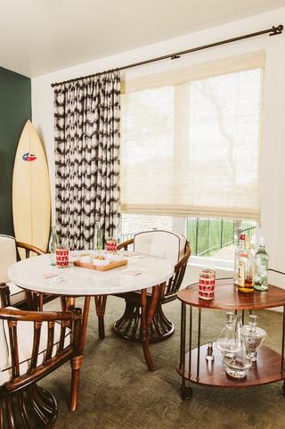北欧风格卧室三层别墅及简约时尚底楼阳光房装修
