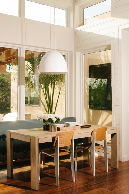 北欧风格一层半别墅时尚客厅休闲餐厅装潢