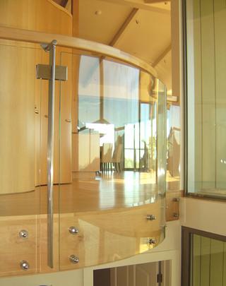 地中海风格家具三层连体别墅小清新玄关过道吊顶装修图片