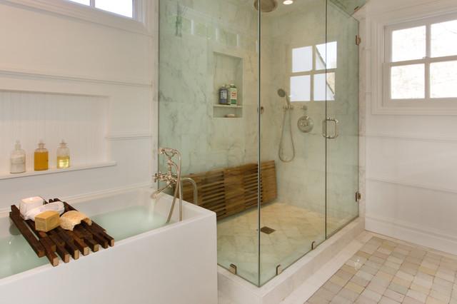 美式乡村风格客厅三层小别墅简洁淋浴房定做高清图片