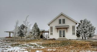 美式乡村风格客厅三层连体别墅温馨客厅庭院装修效果图