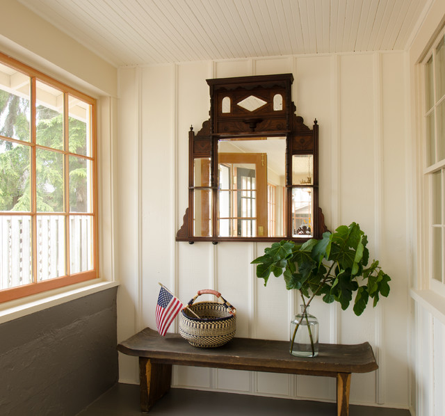 地中海风格一层半小别墅浪漫婚房布置上海阳光房装修效果图