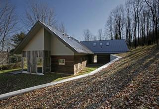美式乡村风格卧室三层别墅及大方简洁客厅阳台地台效果图
