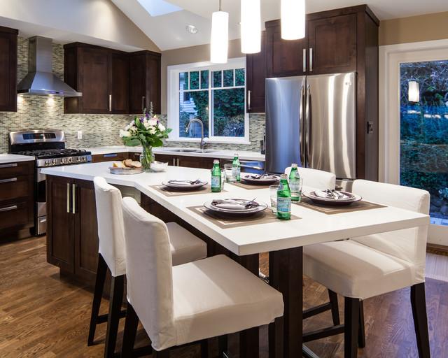 现代欧式风格200平米别墅唯美红木家具餐桌效果图