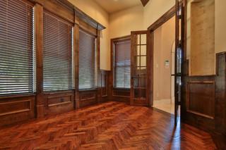 美式风格三层小别墅温馨卧室欧式过道装修效果图