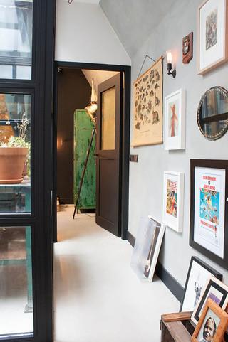混搭风格客厅2013别墅及艺术家具门厅过道吊顶装修效果图