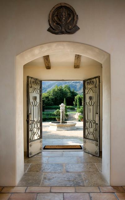 美式风格一层别墅欧式奢华室内玄关装修