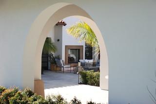 地中海现代简约风格 圣塔莫尼卡私人住宅设计
