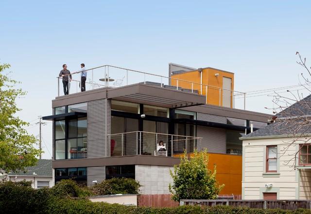 美式风格客厅一层别墅浪漫婚房布置中式阳台装修效果图