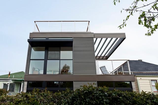 美式三层别墅外观分享展示