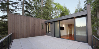 美式风格卧室三层双拼别墅大气2014阳台效果图