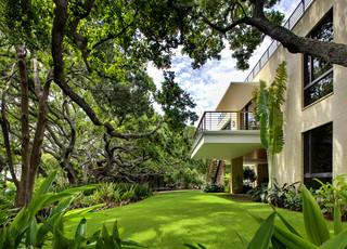 美式风格卧室三层半别墅豪华小庭院设计图纸