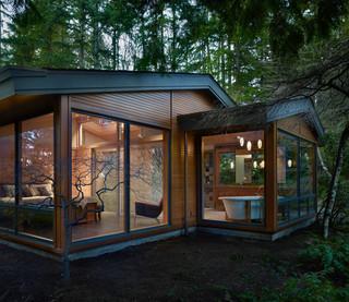 东南亚风格家具三层别墅温馨小庭院装修效果图