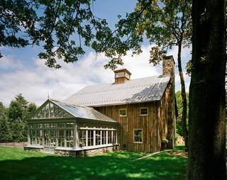 美式乡村风格2013别墅及温馨装饰入户花园装潢