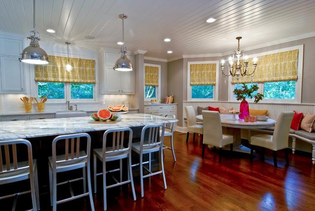 现代简约风格300平别墅客厅简洁整体厨房颜色装修效果图