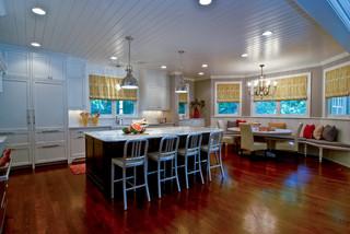 现代简约风格客厅三层连体别墅简洁卧室整体厨房设计图纸