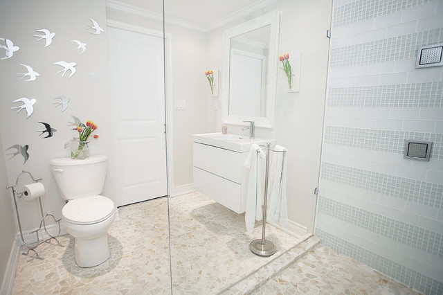 白色小清新的复式小楼 清新生活更舒适