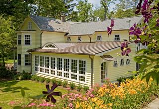 现代简约风格厨房一层别墅舒适家庭小花园设计