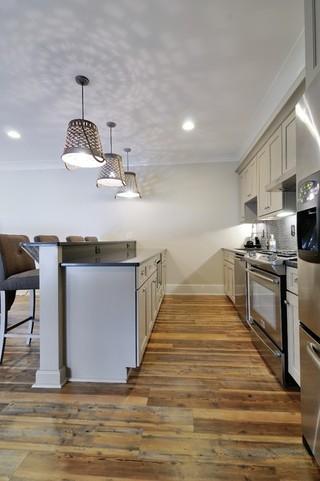 房间欧式风格一层半别墅大气客厅厨房隔断效果图