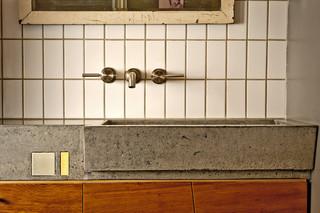 宜家风格酒店式公寓艺术洗手台效果图