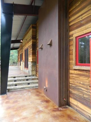 美式乡村风格卧室三层连体别墅简单温馨门厅过道装修效果图